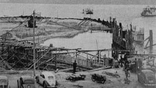Port ferry, Konstanz – Le premier site de construction de la société Zementol1952